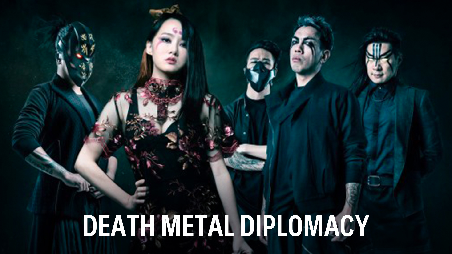 Promotional picture of death metal band